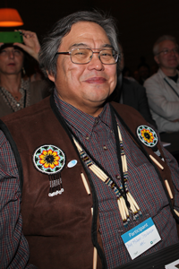 Chief Michael Stickman. Photo: IISD RS