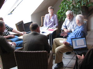 Breakout group of the Terrestrial Expert Monitoring Group at their first workshop